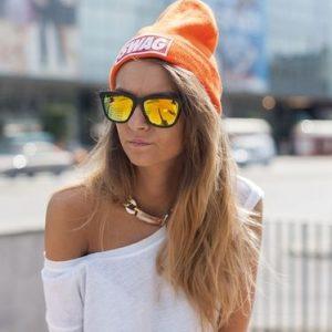 Wayfarer Sunglasses Mirror Lenses