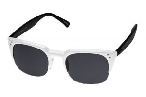 White and Black Sunglasses