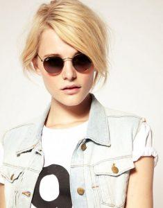 Womens Round Sunglasses