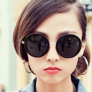 Womens Round Sunglasses Photos