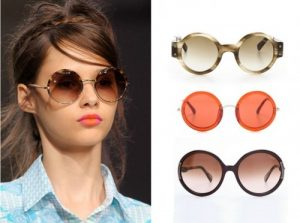 Womens Round Sunglasses Pictures
