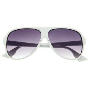 Aviator White Sunglasses