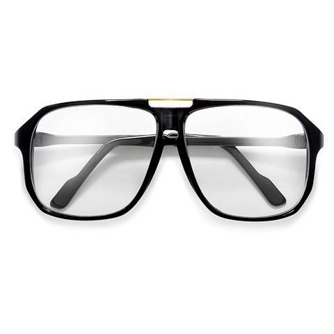 f9a57288f7 All Black Square Geometric Wayfarer Clear Lens Eyeglasses ...