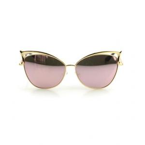 Gold Cat Eye Sunglass