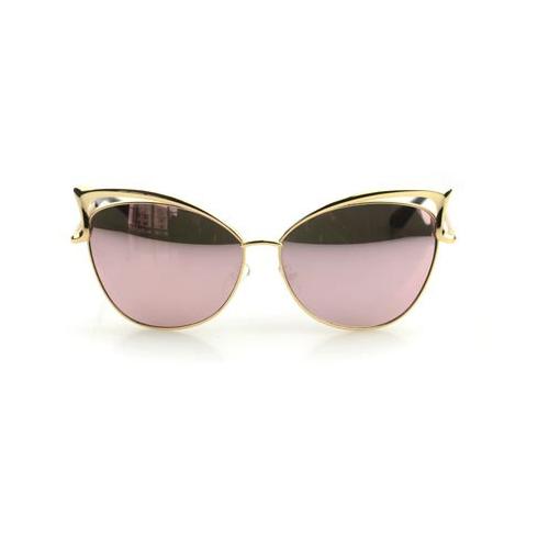 Gold Cat Eye Sunglasses Topsunglasses Net