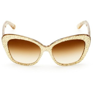 Gold Cat Eye Sunglasses Images