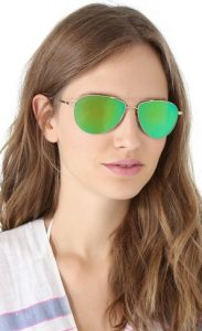 Green Aviator Sunglasses Pictures