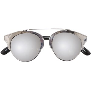 Images of Silver Mirrored Sunglasses