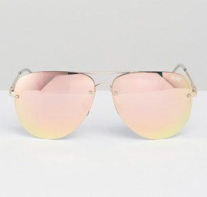 Mirrored Sunglasses Pink