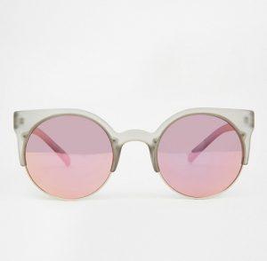 Pink Mirrored Sunglass
