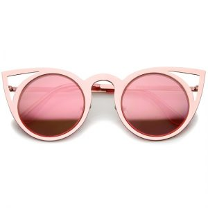 Pink Mirrored Sunglasses Images