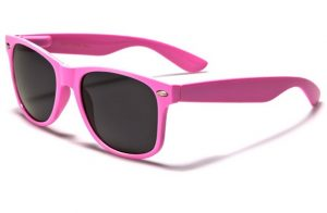 Pink Wayfarer Sunglasses