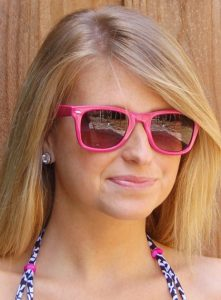 Pink Wayfarer Sunglasses Photos