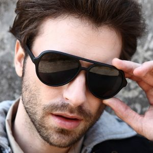 Plastic Aviator Sunglasses for Men
