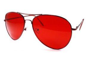 Red Aviator Sunglasses Photos