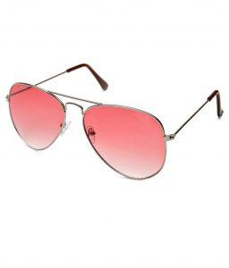 Red Lense Aviator Sunglasses