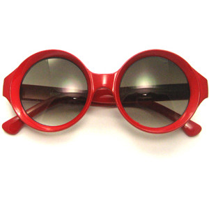 Red Round Sunglasses Images