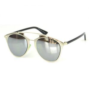 Silver Mirrored Sunglass