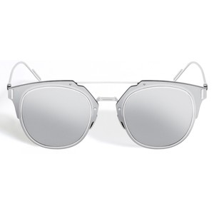 Silver Mirrored Sunglasses Images