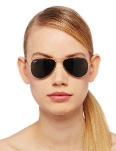 Small Frame Aviator Sunglasses