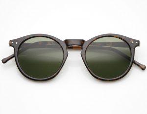 Vintage Round Sunglasses Men