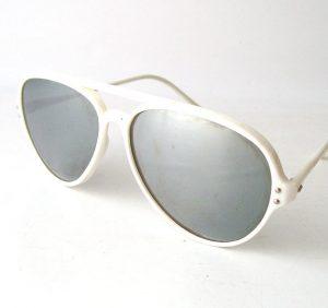 White Aviator Sunglasses Images