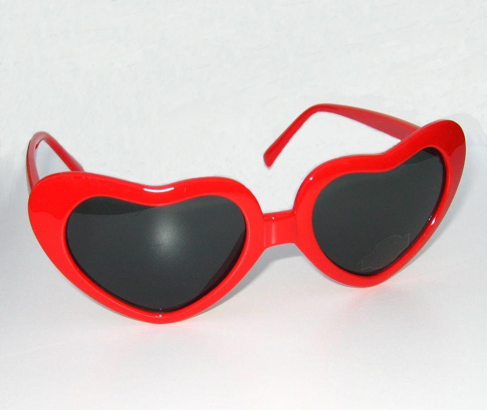 Heart Shaped Sunglasse...