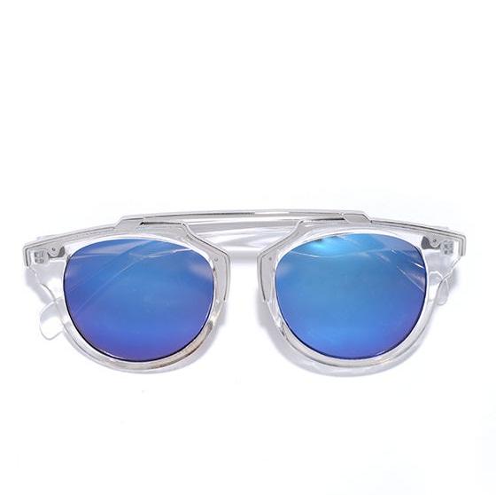 Clear Mirrored Sunglasses   Top Sunglasses