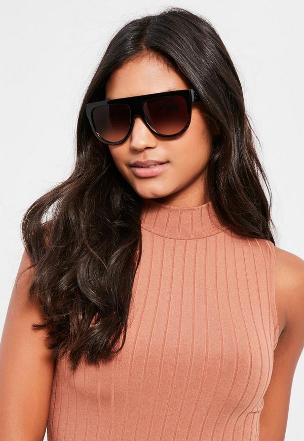 ea0af0572d4 Flat Top Sunglasses