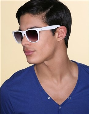 fea767e2b74 Mens White Sunglasses