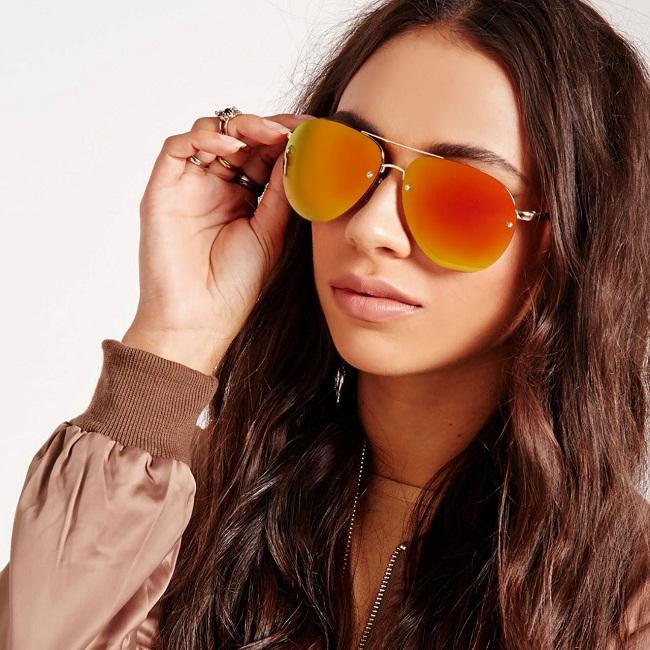 Orange Mirror Sunglasses Topsunglasses Net
