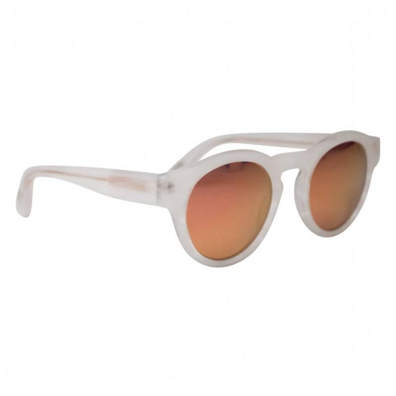 BOBO BIRD Womens Mens Bamboo Wooden Sunglasses White Frame