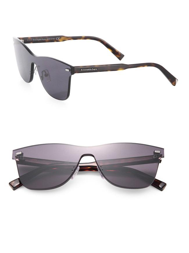 0bd87757b1 Rimless Wayfarer Sunglasses