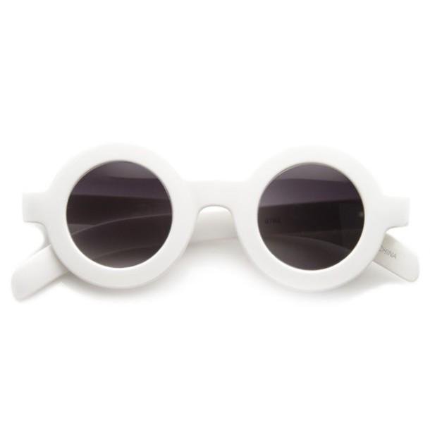 White Frame Sunglasses | Top Sunglasses