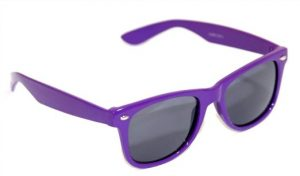 Purple Wayfarer Sunglasses
