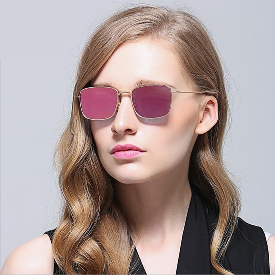 e5915aa70d6 Flat Red Lens Sunglasses