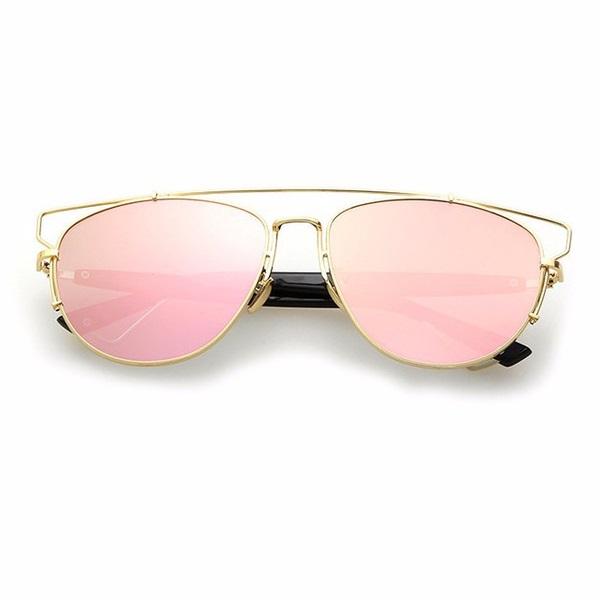 4bdcc23600 Pink Reflective Sunglasses